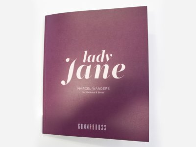 Catalogue Lady Jane Collection by Marcel Wanders