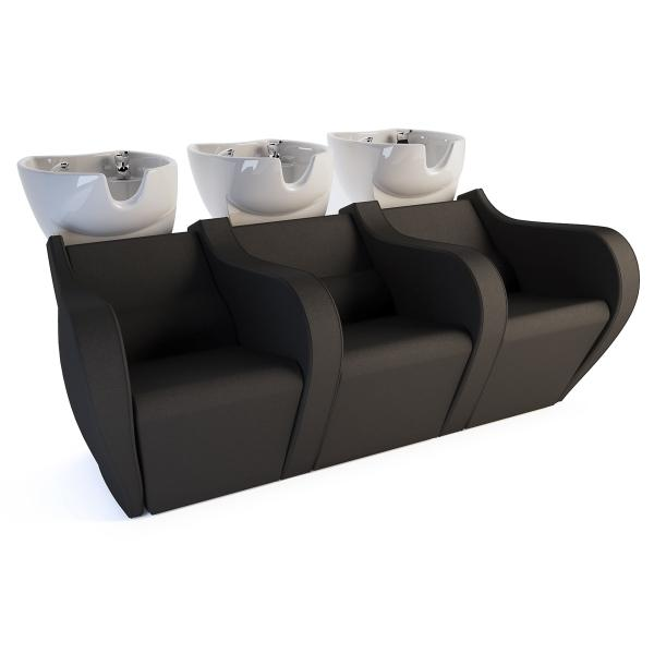 Shampoo Bowls Celebrity Prime Electric Sofa 3P
