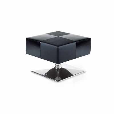 Campo_SPA Black Pouff